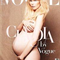 Napi Kedvenc - Terhes Claudia Schiffer a német Vogue címlapján