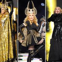 Madonna Givenchy Haute Couture szettjei a Super Bowlról