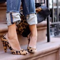 Nem tudtok meggyőzni: leopárd mintás cipők