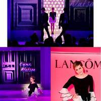Exkluzív képriport: Emma Watson a Lancôme Trésor Midnight Rose sajtótájékoztatóján