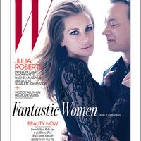 Julia Roberts és Tom Hanks a W Magazinban