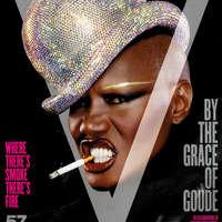 Love or Hate? Grace Jones a V magazin címlapján