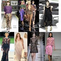 2011 tavaszi-nyári divattrendjei: az áttetsző textilek