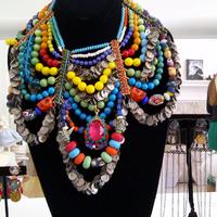 London Fashion Week kiállítás - Erickson Beamon és Mawi