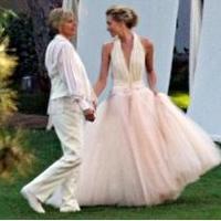 Napi kedvenc: Portia de Rossi Zac Posen esküvői ruhája