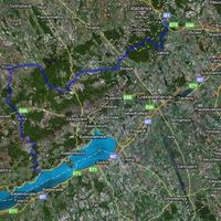 Vértes - Bakony - Balaton kerékpártúra