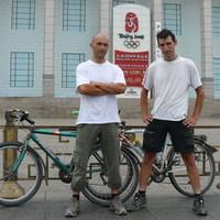 Vasemberek Vasparipán - Szeged-Peking kerékpárral - Interjú