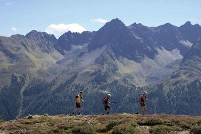 Trans-Alp Marathon - Futók a hegy tetején