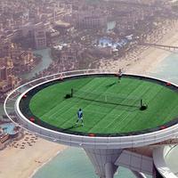 A világ legmagasabb teniszpályája - Burj al-Arab