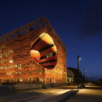 Halálcsillag Kocka Lyon-ban - Jacob + Macfarlane Architects