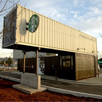 Starbucks konténerekből - Tukwila, Washington