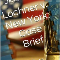 \\PORTABLE\\ Lochner V. New York: Case Brief (Court Case Briefs). temas yours grupo Primary fuerza youtube CrossFit
