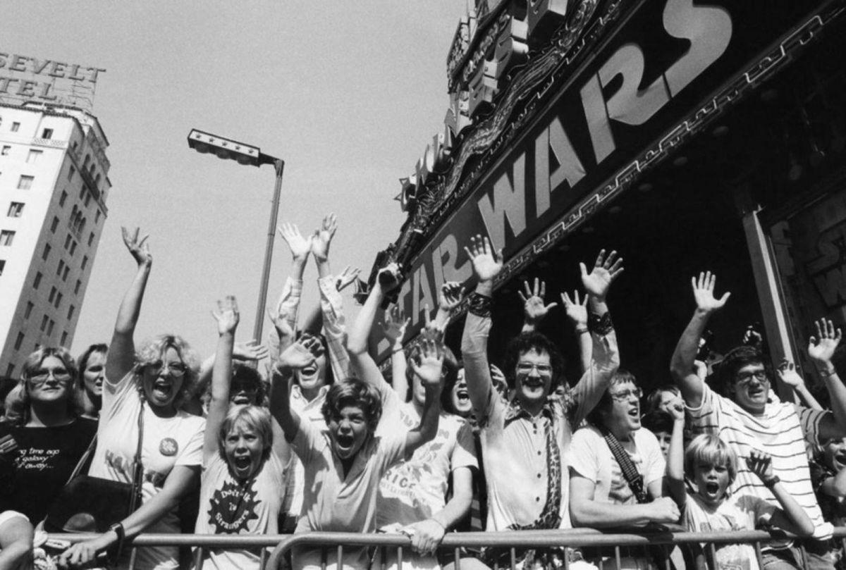 A Star Wars második bemutatója a Chinese Theatre-ben 1977. augusztus 3-án