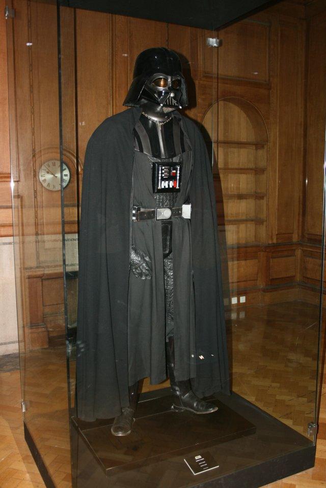 Darth Vader a vitrinben