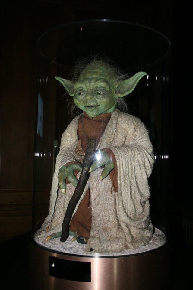 Az eredeti Yoda-báb