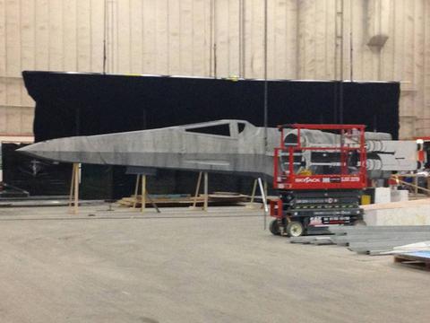 Készül az új X-szárnyú vadászgép, amely a jelek szerint eltér kissé a klasszikus trilógiában látott formájától.