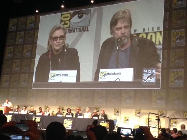 Carrie Fisher és Mark Hamill (fotó: starwars.com)