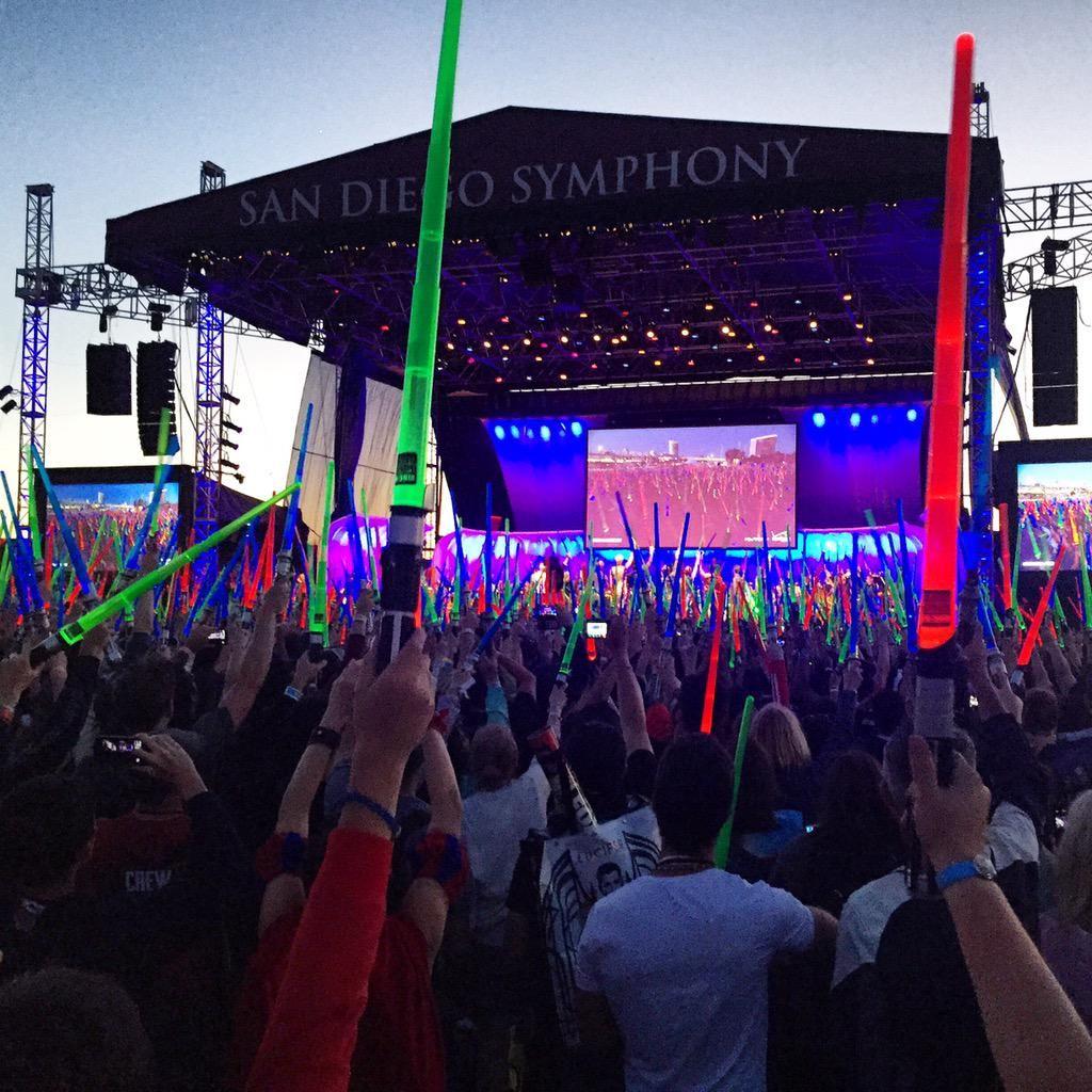 Star Wars-koncert a Comic-Conon (fotó: Twitter)