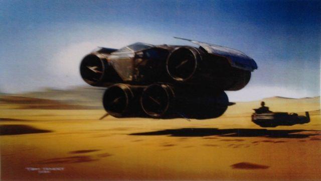 Cseppnyi Mad Max-hangulat: járgány X-szárnyú hajtóművekkel.
