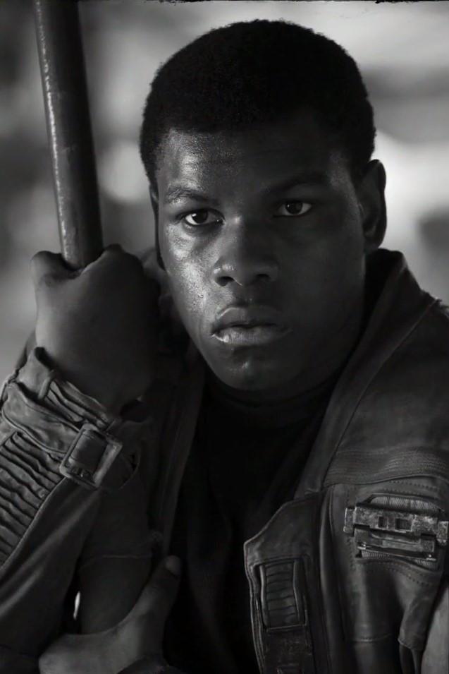 Finn szerepében John Boyega
