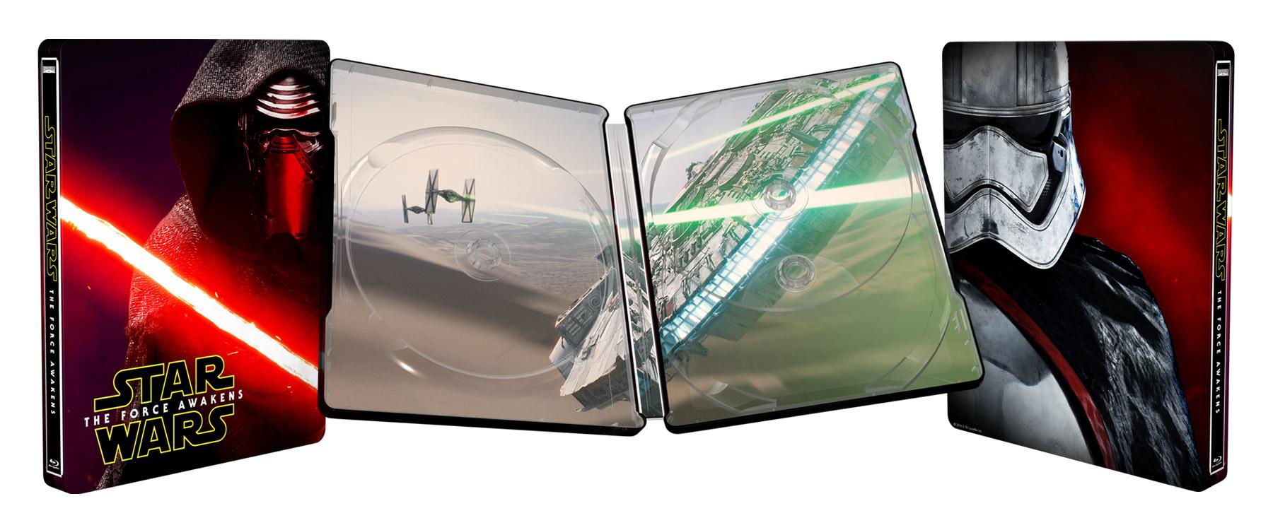 A Best Buy polcairól fémdobozos kiadásban vihető haza a Star Wars VII.