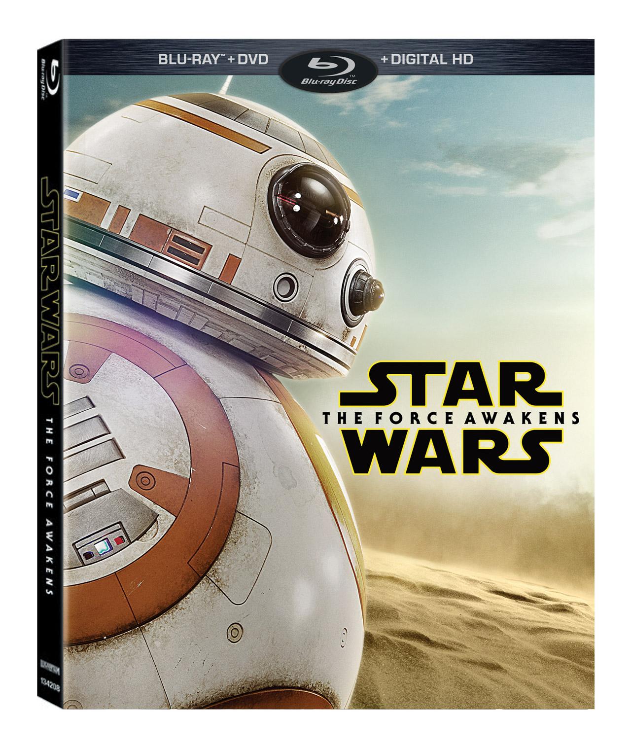 A Walmart BB-8 borítóval árulja a filmet.