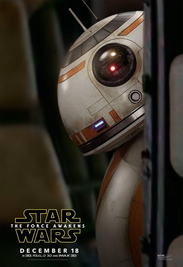 Végül egy poszter BB-8-cal
