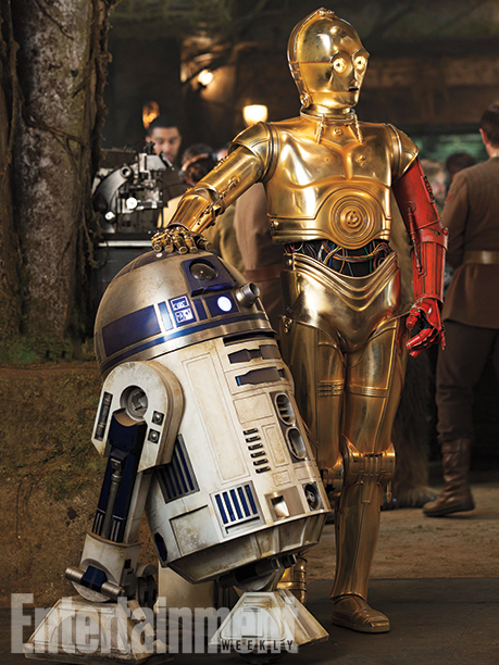 Régi ismerősök - R2-D2 és C-3PO (Anthony Daniels)