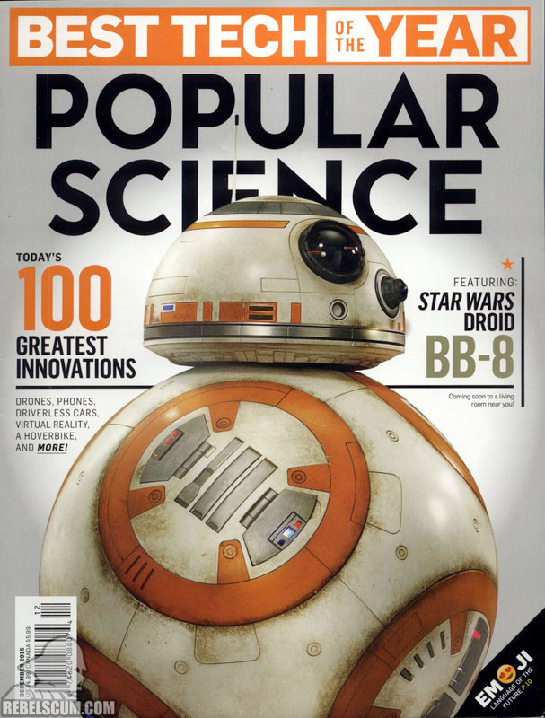 BB-8 a Popular Science címlapján