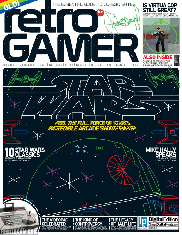 A Retro Gamer címlapján is Star Wars
