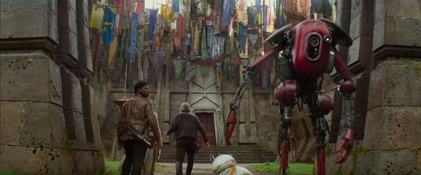 Érdekes helyszín és egy érdekes robot