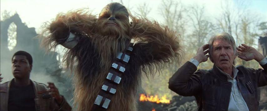 Finn, Csubi és Han bajban