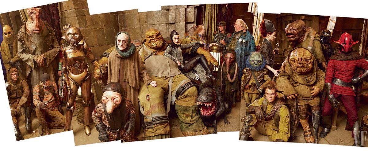 Galaktikus utazók, csempészek és más válogatott csirkefogók népesítik be Maz Kanata kastélyát. Star Wars, én így szeretlek!