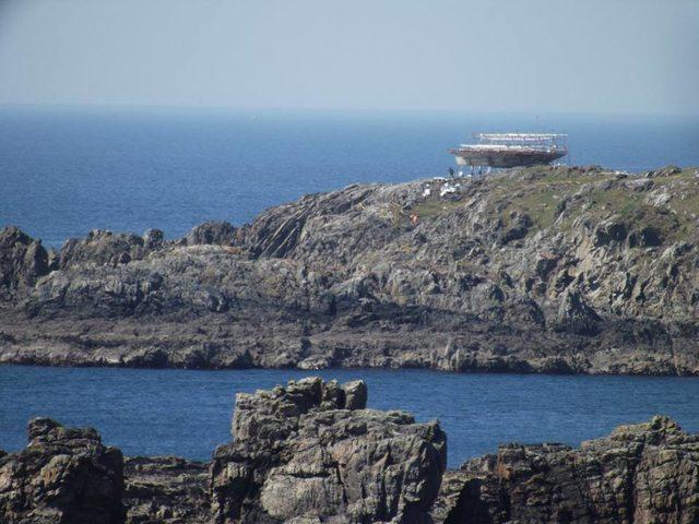 A díszlet Írország legészakibb pontján, a Malin-foknál áll. (fotó: Irish Mirror)