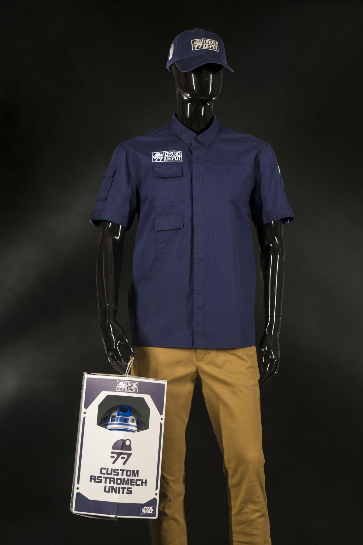 Mubo droid depójában felöltözhetünk szakképzett droid technikusnak.