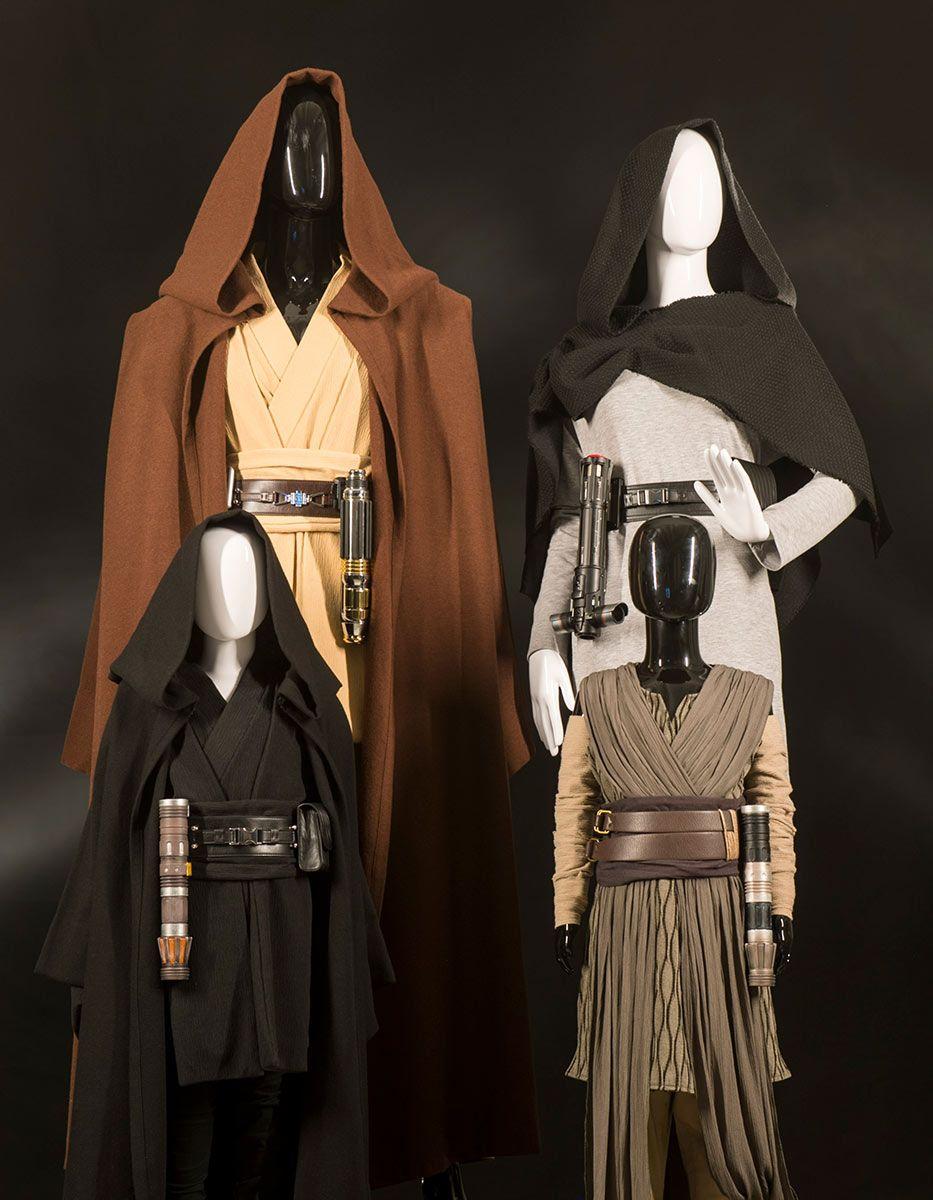 Jedi és roncsvadász öltözetek a város ruhaboltjából, kicsiknek és nagyoknak egyaránt.
