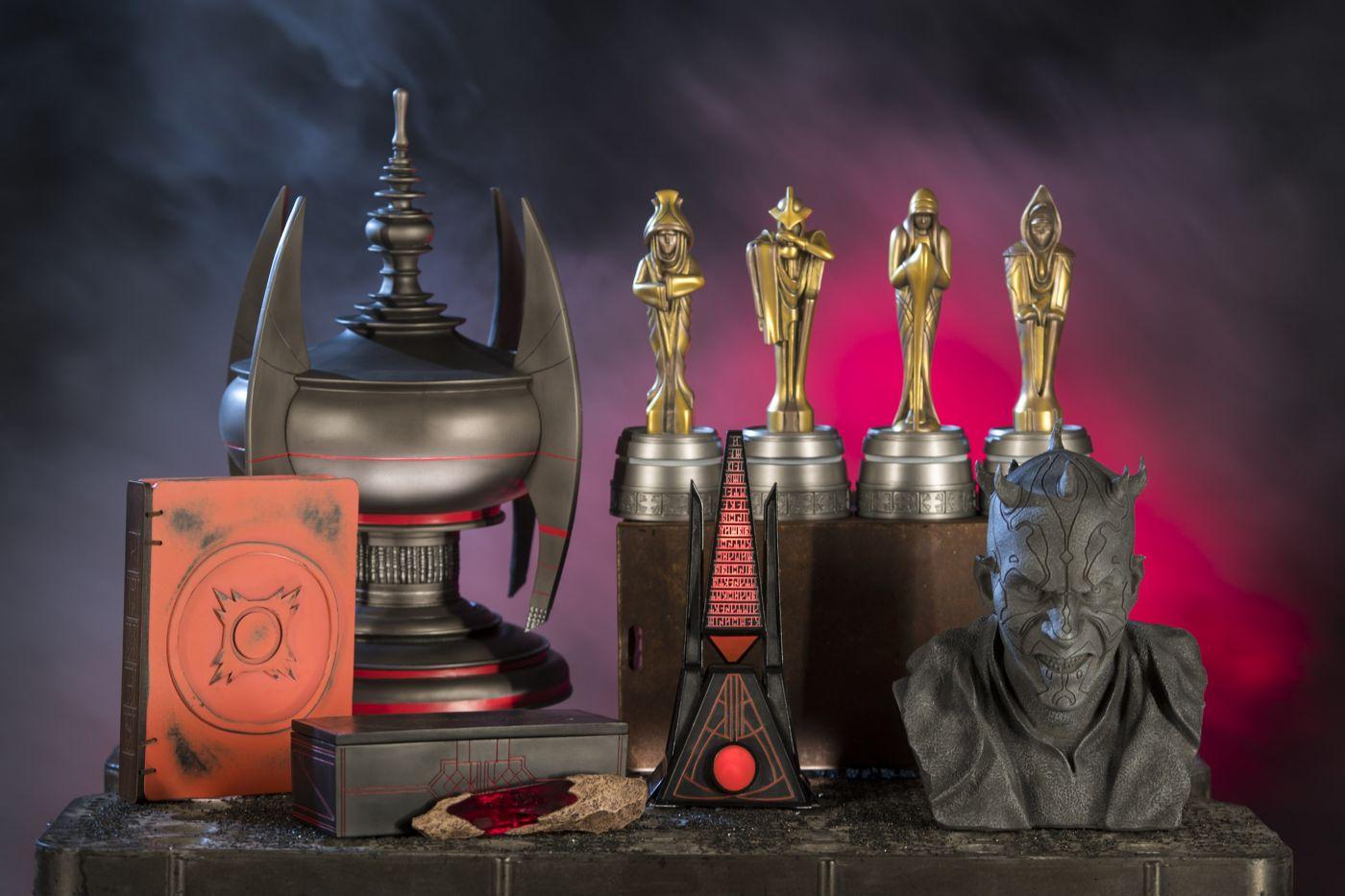 Akad itt pár mágikus Sith-tárgy is a Sötét Oldal kedvelői számára.