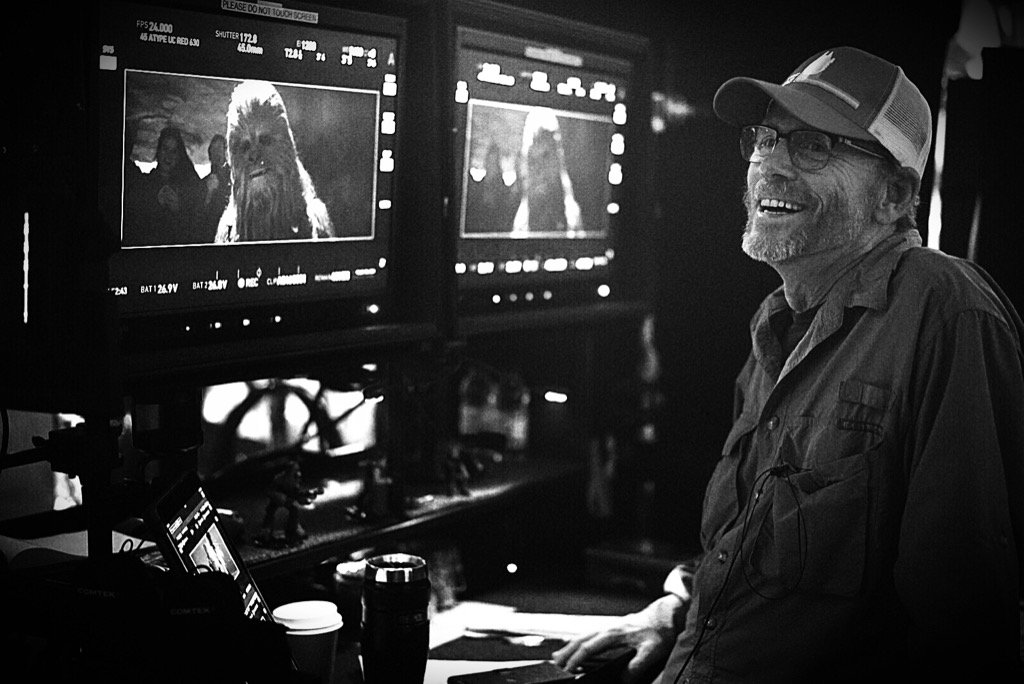 Ron Howard és Chewbacca
