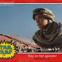 Rey, Finn és Kylo Ren - Retro kártyákon mutatkoznak be a VII. Epizód szereplői