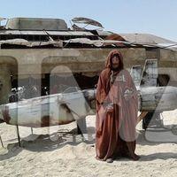 Kiszivárgott képek a Star Wars forgatásáról
