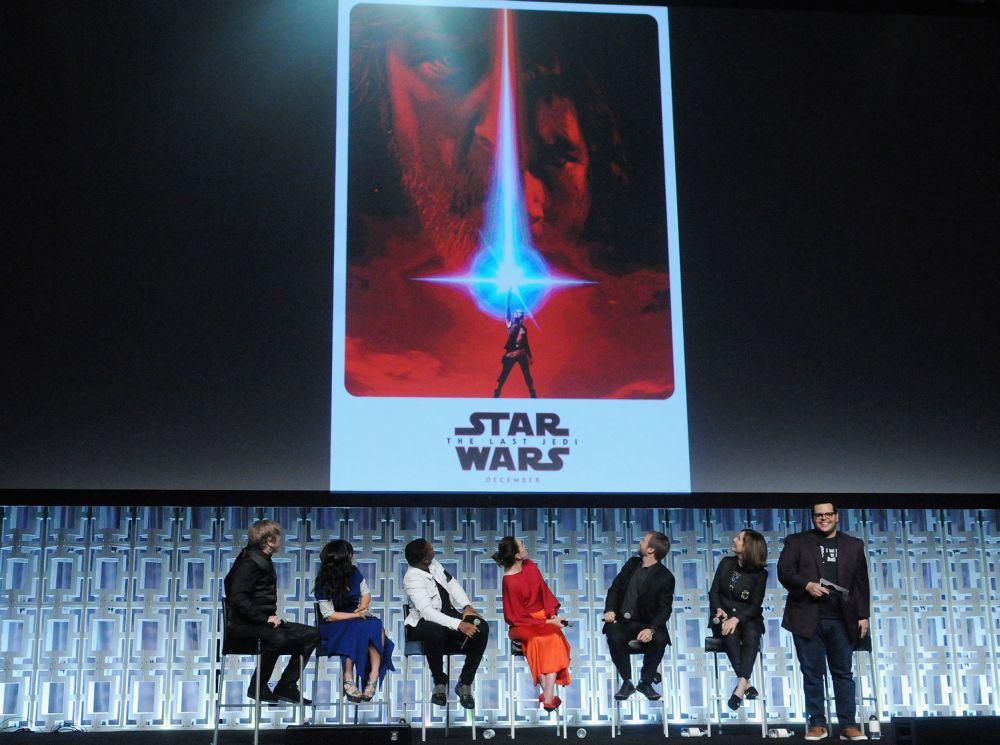 A szereplők is most láthatták először a film poszterét.