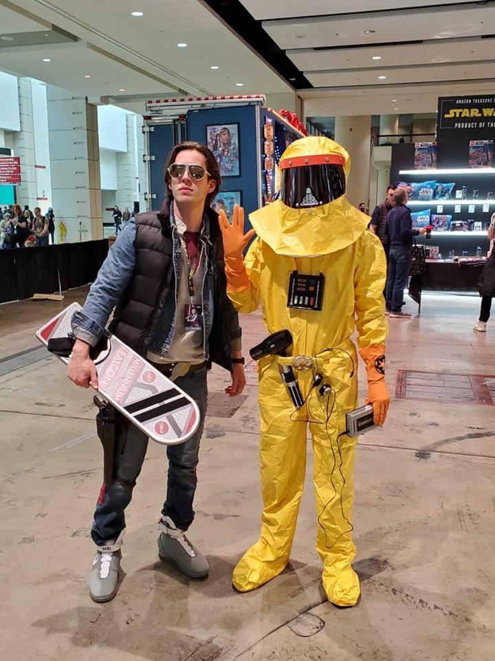 Marty McFly és Darth Vader a Vulkán bolygóról (forrás: Twitter)