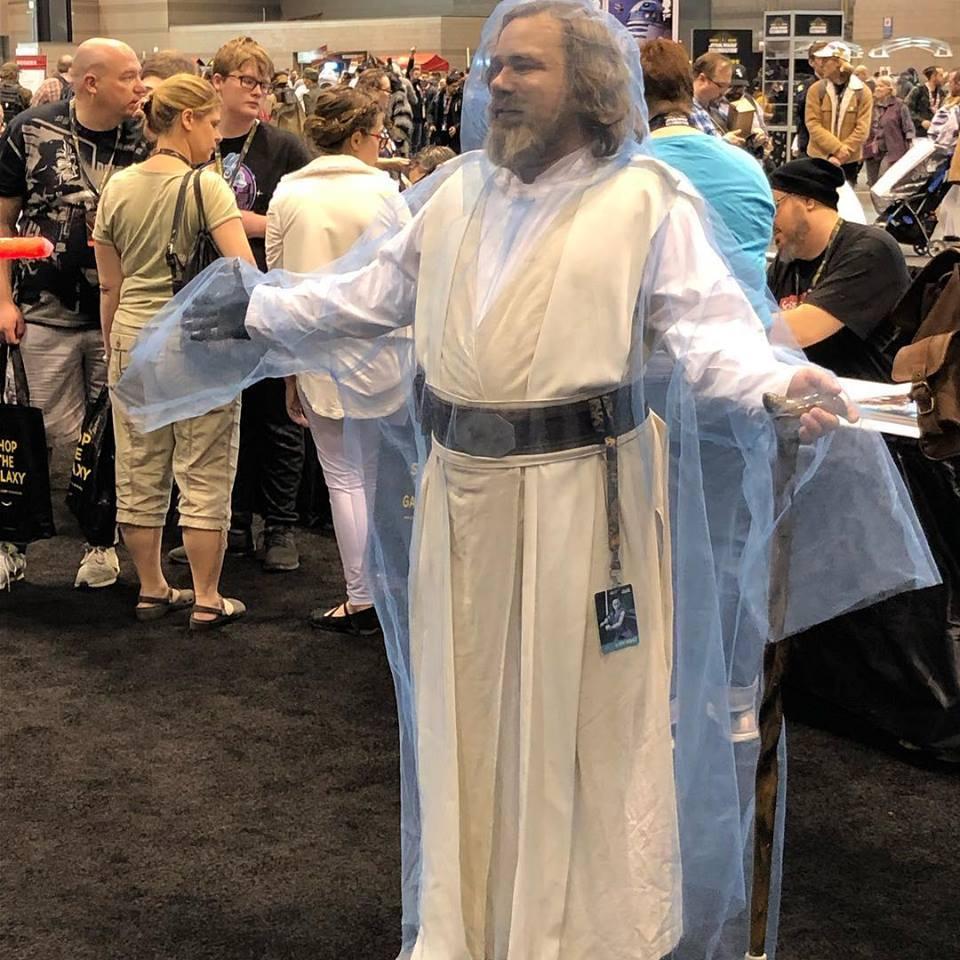 Állítólag Luke szelleme is megjelent a rendezvényen. (forrás: Twitter)