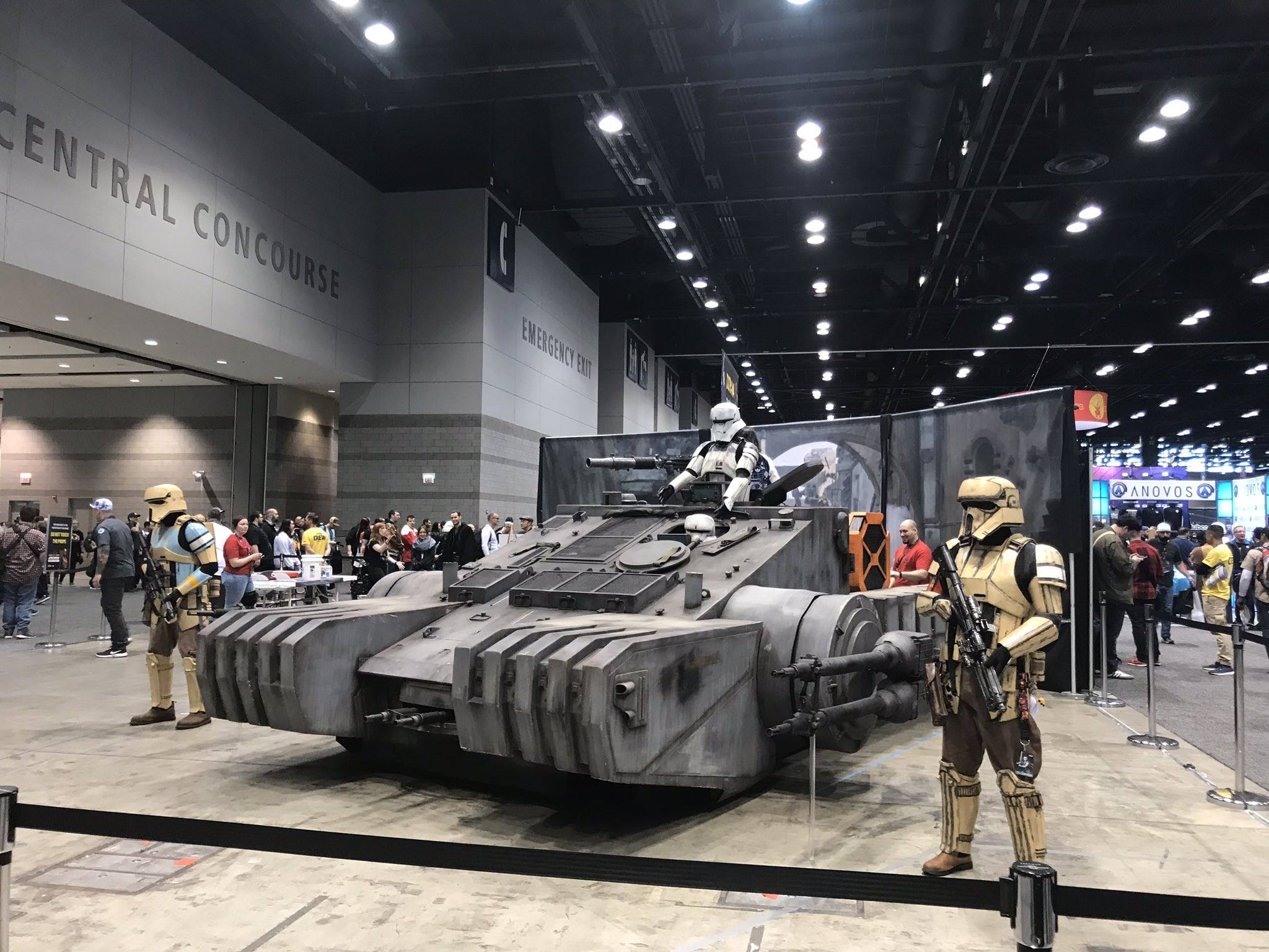 Birodalmi tank a Zsivány Egyesből (forrás: Twitter)