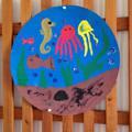 Víz Világnapjára készült gyermeki alkotások