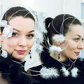 Special headpiece, white roses, white feathers Photo András Gimesi Modell Katalin Kocsis #ozmonda #ozmondahatgallery #millinery #couturemillinery #couturehats #couture #sophisticated #classicstyle #luxury #gimephoto #instafashion #instastyle #instahun