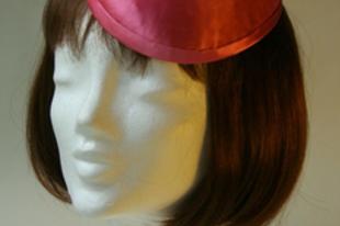 Ozmonda kalap - Rózsaszín, pink koktélkalap