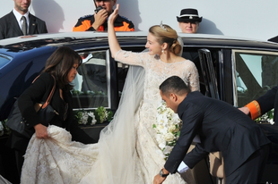 Prince Guillaume és Princess Stephanie esküvője Luxembourgban