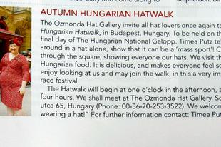 ll. Autumn Hungarian Hatwalk