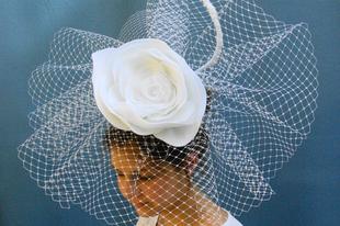 Esküvői kalap - merész esküvői fátyol